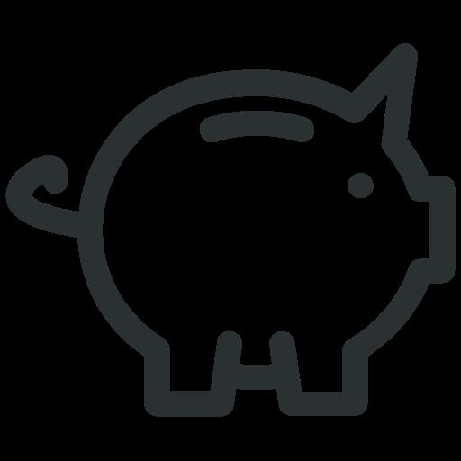 bank, budget, piggy, saving icon icon