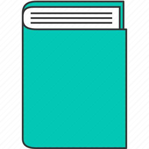 book, diary, education, memo, notebook, study icon