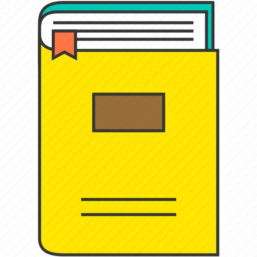 book, bookmark, education, read, study icon