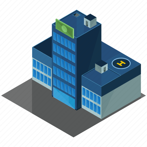 architecture, bank, building, business, businesses icon