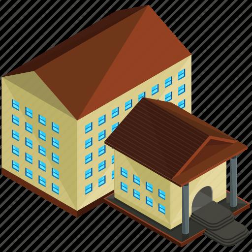 architecture, building, businsses, college, estate, home icon