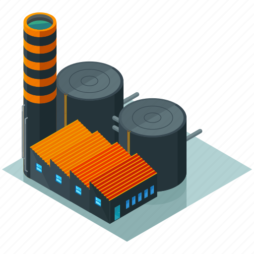 architecture, building, businesses, factory, tower icon