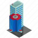 building, businesses, estate, hospital, skyscraper icon
