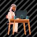 arab, business, businessman, muslim, office, people