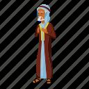 arab, business, businessman, muslim, office, people icon