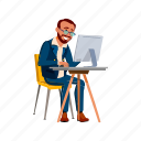 Business Businessman Manager Office People Worker Icon