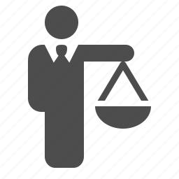 business, businessman, man, scale, scales, weight icon