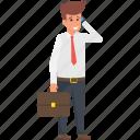 business call, business communication, business person, businessman making a call, conversation