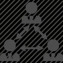 brainstorming, businessman, businessmen, people, team icon