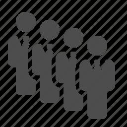 business, businessman, businessmen, man, men, people, team icon