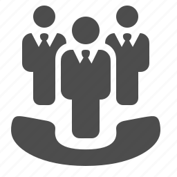 businessmen, call, conference, contacts, meeting, phone, telephone icon