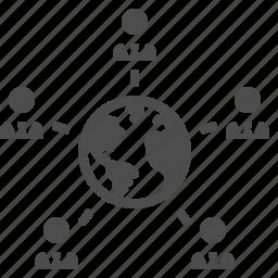 business, businessman, businessmen, earth, global, globe, international icon