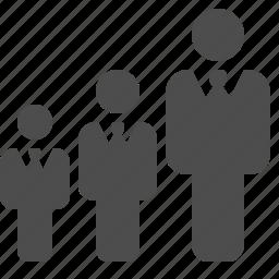 boss, businessman, businessmen, hierarchy, rank, ranking, team icon