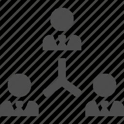 boss, businessman, businessmen, hierarchy, leader, team icon