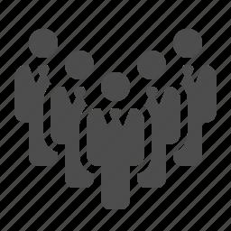 businessman, businessmen, man, meeting, men, people, team icon