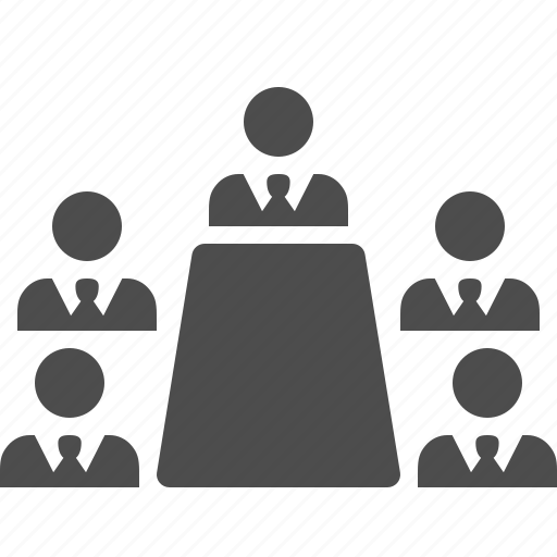 businessman, businessmen, conference, man, meeting, people, table icon