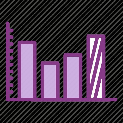 analysis, chart, graph, measure, measurement icon