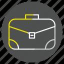 bag, briefcase, case, job icon