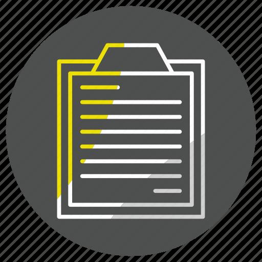 Bloc, list, note, survey icon - Download on Iconfinder