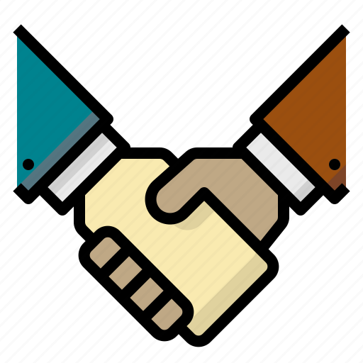 agreement, business, cooperation, gestures, hand, handshake, shake icon