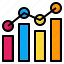 business, finances, graph, graphical, investment, statistics, stats icon