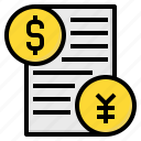 business, buy, cash, contract, future, money, stock icon