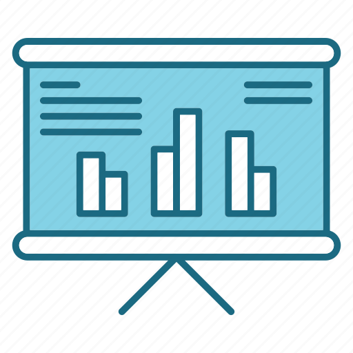 analytics, bussiness, graph, marketing icon