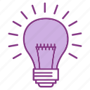 bulb, bussiness, campagns, creative, idea, lamp, marketing icon