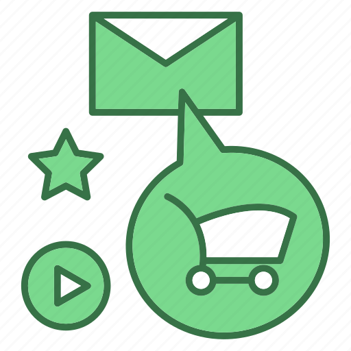 basket, bussiness, email, marketing, shop icon