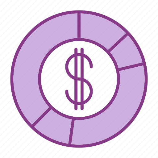 bussiness, dollar, graph, management, marketing, money, statistics icon