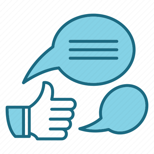 bussiness, compagns, hand, marketing, social, thumb up icon