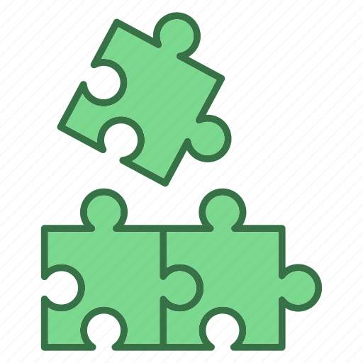 bussiness, game, marketing, puzzle, solutions icon