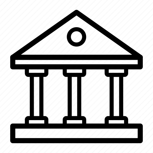bank, finance, financial, institution, loan, stock icon