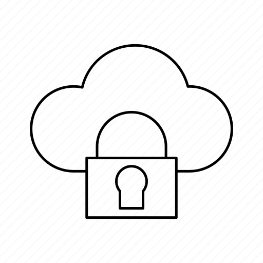 cloud, protection, safe, security icon