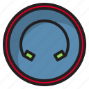 botton, computer, earphone, interface icon
