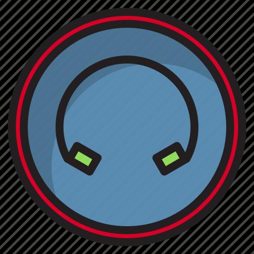 botton, computer, earphone, interface icon