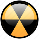 alert, burn, danger, dvd, hazard, toxic, write icon