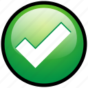 accept, check, good, list, ok, tick, yes icon