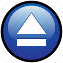 skip, stop, control, dvd, music, play, eject icon