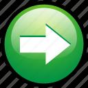 skip, arrow, pointer, forward, next, move, direction icon