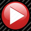 media, music, netflix, play, stream, video, youtube icon