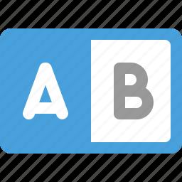 switch, tab, toggle icon