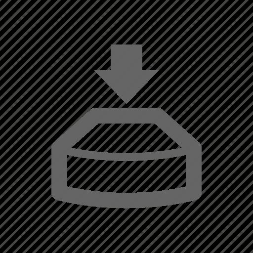 press, push icon