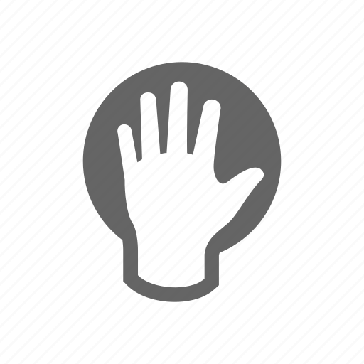 gesture, hand, touch icon