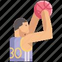 ball, basketball, game, hoops, jump shot, play, sport