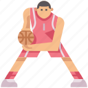 ball, basketball, game, hoops, play, sport, triple threat