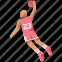 ball, dunk, game, hoops, sport, slam dunk, basketball icon