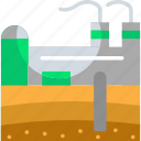 power, ecology, industry, geothermal, power plant, energy icon