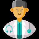 avatar, doctor, frontliner, male, medical staff