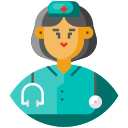 avatar, female, frontliner, medical staff, nurse icon
